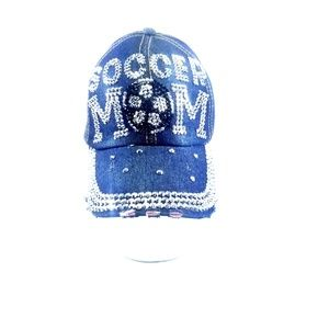 Soccer Mom Bling & Rhinestone Trucker Hat